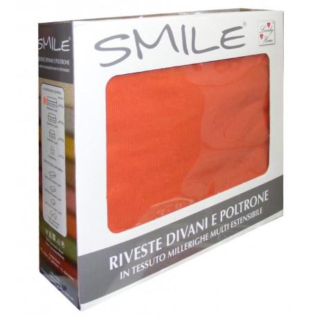 COPRIDIVANO SMILE 4 POSTI ARANCIO