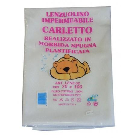 "LENZUOLINO IMPERMEABILE LETTINO ""CARLETTO"""