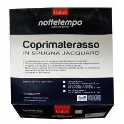COPRIMATERASSO SPUGNA JACQUARD CONFORT NOTTETEMPO GABEL