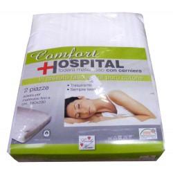 COPRIMATERASSO CON CERNIERA CONFORT HOSPITAL LOVELY HOME