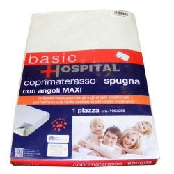 COPRIMATERASSO SPUGNA CON ANGOLI MAXI BASIC HOSPITAL DESIDERI DI CASA
