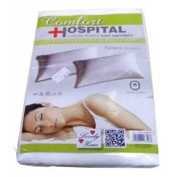 COPPIA FEDERE COTONE FASCIATO CON ZIP CONFORT HOSPITAL LOVELY HOME