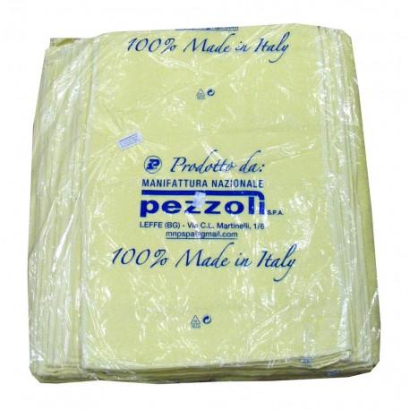 CONFEZIONE 6 PEZZI ASCIUGAMANI 60 X 110 CM TINTA UNITA MANIFATTURE PEZZOLI