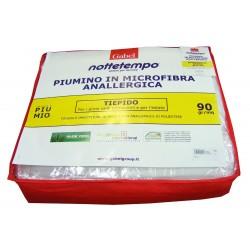 PIUMINO MICROFIBRA ANALLERGICA 90 GR/MQ NOTTETEMPO GABEL