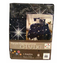 COPRIPIUMINO COTONE LUNA CHARLIE LOVELY HOME
